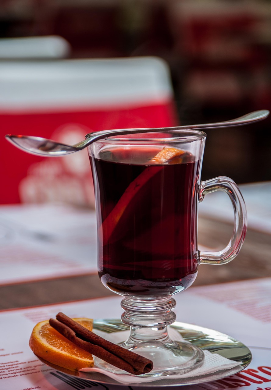 Bezalkoholowe grzane wino- przepis